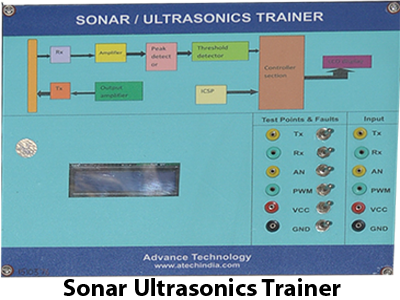 Sonar Ultrasonics Trainer