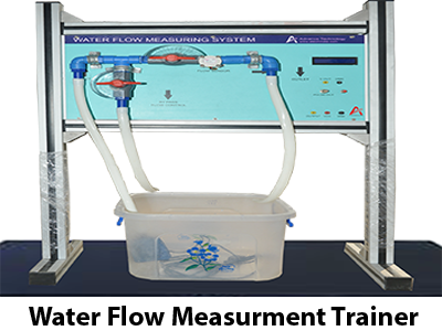 Water Flow Measurment Trainer