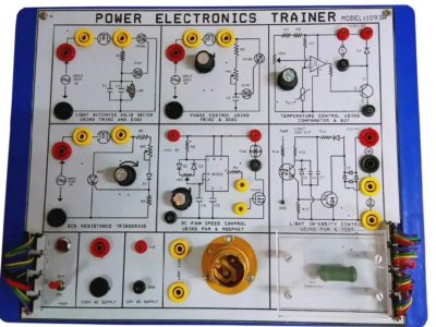 Power electronics trainer (6Application)