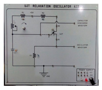 UJT Relaxation Oscillator Experimental Kit