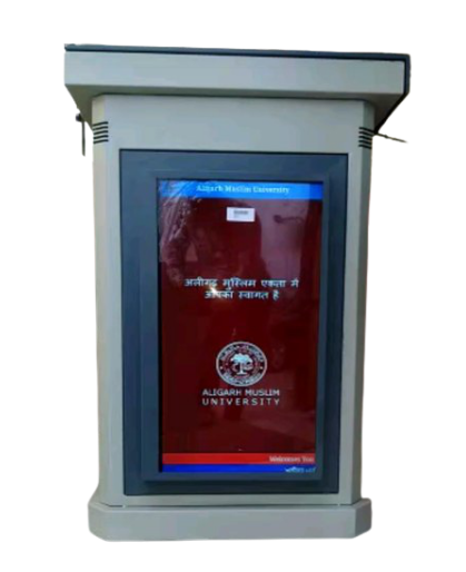 Electronic Lectern with front Screen